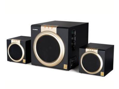 现代(HYUNDAI)音箱 HY-9200 蓝牙版 2.1声道/60W大功率/木质/