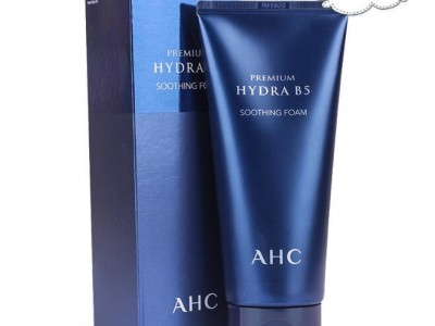 韩国正品 AHC玻尿酸B5洁面乳 深层洁面保湿控油敏感肌洁面乳