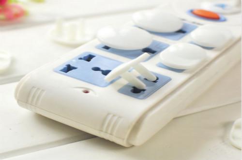 绿联儿童安全插座保护宝宝健康成长
