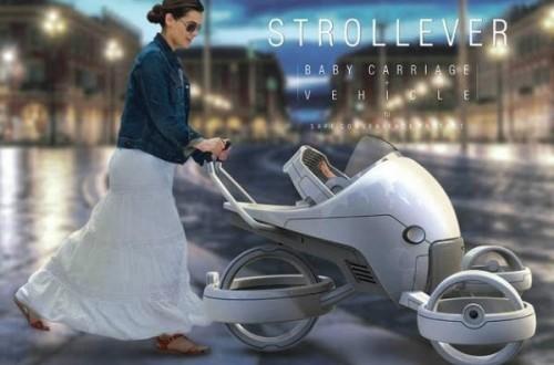 STROLLEVE婴儿车品牌:安全 舒适 孩子的移动城堡