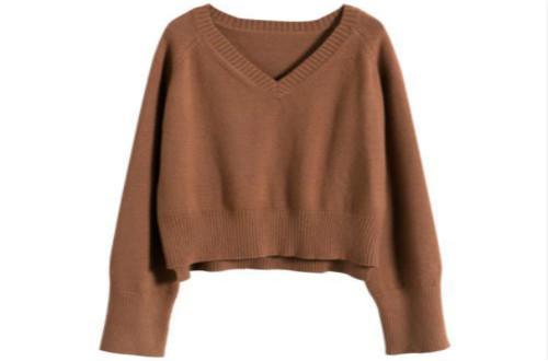 """""""奶奶款""""花毛衣也能穿出不一样的美"""