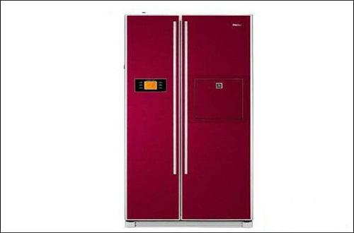 国产家电品牌海尔新发布双循环对开门变频冰箱