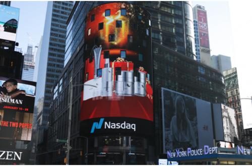德国高端护肤品牌Valion唯莉欧登陆纽约时代广场