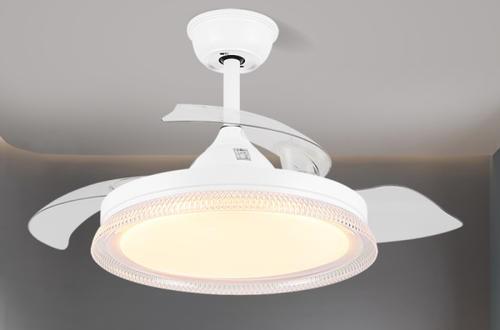 木可家吊扇灯:变频环保静音实用又省电