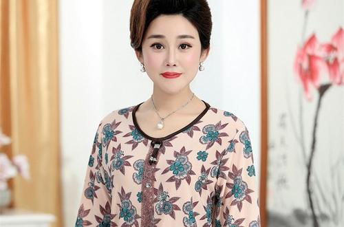 中老年女装品牌母后吉祥 专注于高品质中老年女装