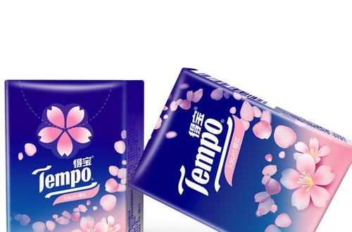 纸巾品牌Tempo得宝推出樱花味软抽 谱写精致生活物语