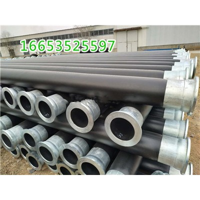 PE高分子聚乙烯管生产过程,钢丝网骨架聚乙烯管持续生产